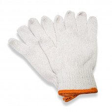 Bleached White Cotton Gloves (pack of 10)