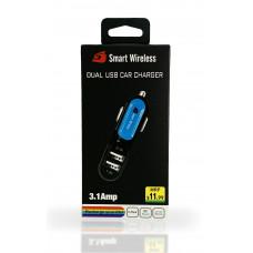 Dual USB 3.1 Amp Car Adapter
