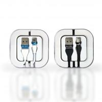 Premium Micro USB Cable 2.1 Amp Cable in Acrylic Box