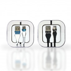 Premium Micro USB Cable 2.1 Amp Cable in Acrylic Box