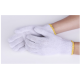 Bleached White Knitted Cotton Gloves (pack of 10)